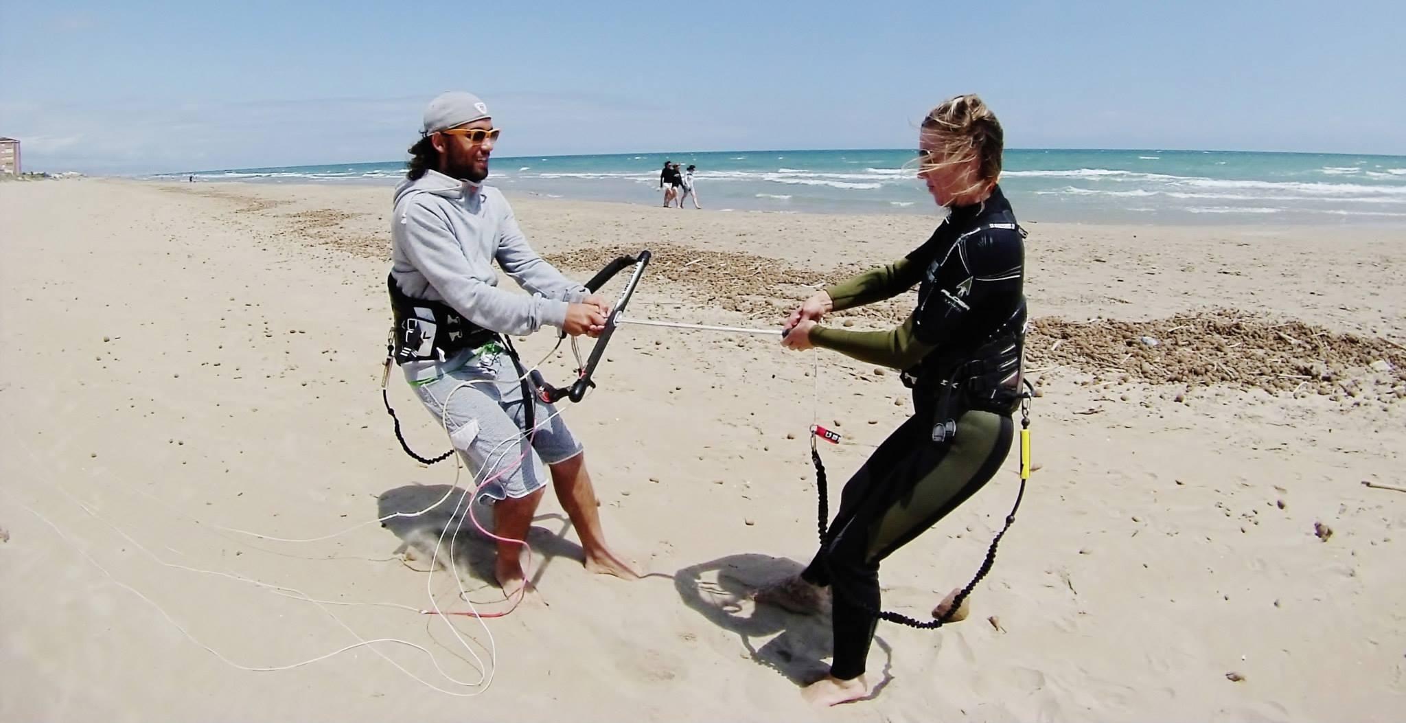 Cursos de kitesurf en Denia