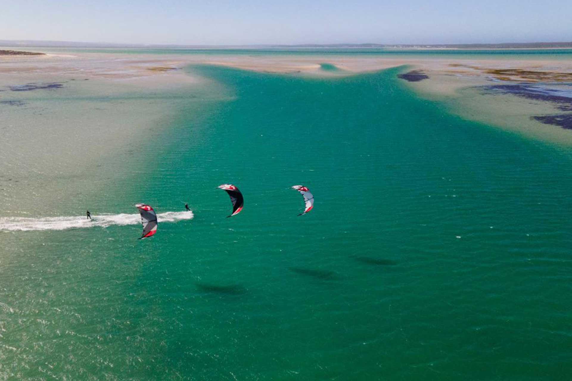 Zona de kitesurf en Denia habilitada