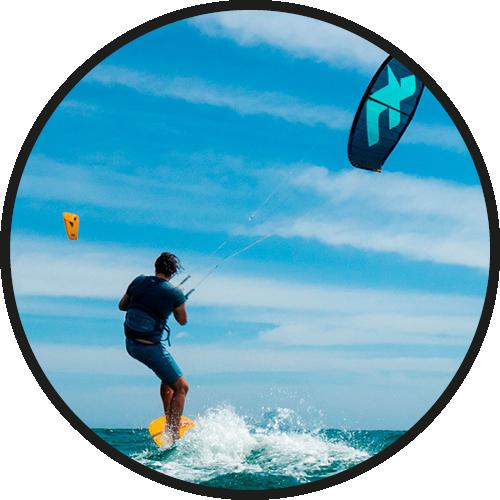 cursos kite iconos
